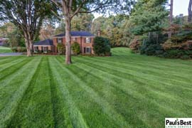 Mowing and Turf Program in Mclean VA | Don't Try This At Home, Call the Professionals for Mowing Stripes Like This