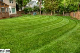 Circular Mowing Stripes in Vienna VA | Circular Mowing Stripes Keeping the Lawn Fresh