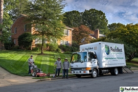 Lawn Mowing Crew in Arlington VA | Another Day in the Life of a Paul's Best Lawn Service Crew