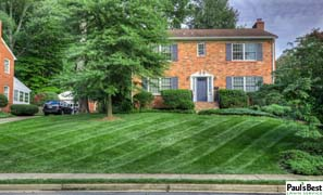 Lawn Mowing and Turf Care in Arlington VA | Maximum Curb Appeal by Paul's Best Lawn Service