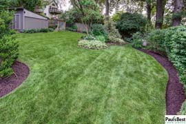Maintenance, Mowing and Turf Care in Arlington. VA | I'll take a Fresh Cut, Edge and Shredded Hardwood Please