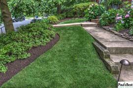 Maintenance, Mowing and Mulching in Arlington. VA | Fresh Layer of Mulch Atop Thoroughly Cleaned Beds