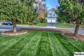 Maintenance, Leaf Removal, Mowing and Turf Care in Vienna, VA | Glad I Decided to Leave the Leaf Clean-up to Paul's