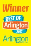 Voted 'Best of Arlington 2017' for Lawn Service Provider