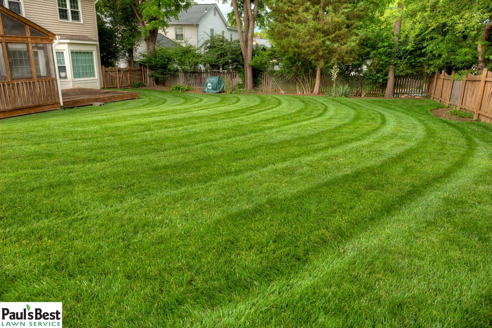 Paul 39 s best lawn service inc lawn maintenance company for Best garden maintenance